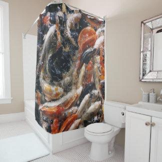 Koi Photo Shower Curtain