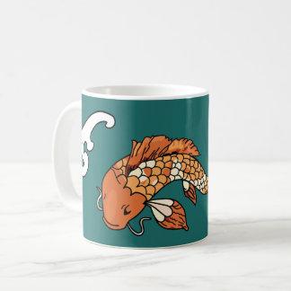 Koi Pond - Big Fish coffee mug