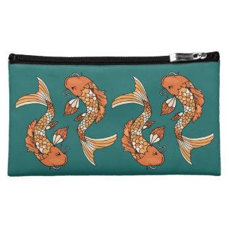 Koi Pond Medium Cosmetic Bag