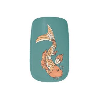 Koi Pond Minx Nail Art
