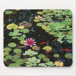 Koi Pond Mousepad