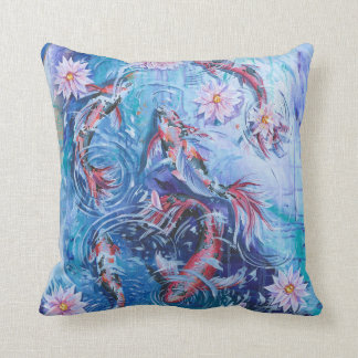 Koi Pond Pillow