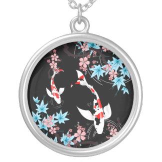 Koi Pond - Spring - Japanese Design Necklace