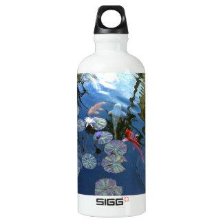 Koi Pond Water Bottle