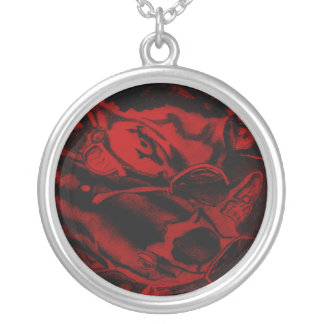 Koi (Red) Silver Plated Necklace