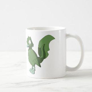 Koi Reptilian Bird - Faded Grass Mug