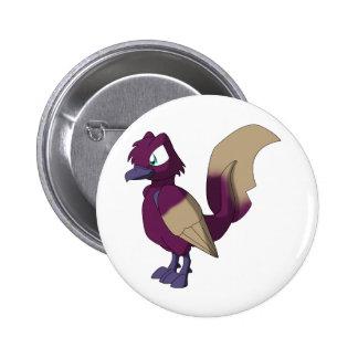 Koi Reptilian Bird - Peanut Butter Jelly Hajiro Button