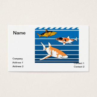 Koi Sharks Business Card