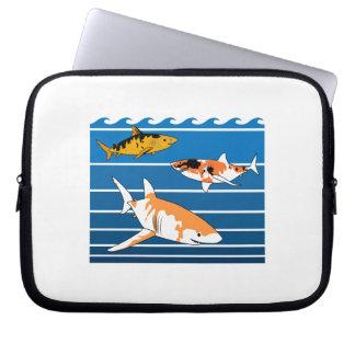 Koi Sharks Laptop Sleeve