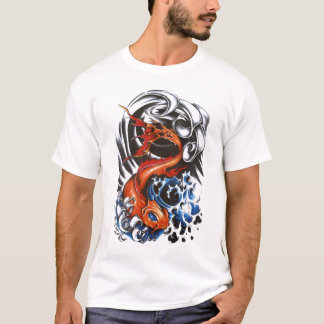 koi tattoo 2 T-Shirt