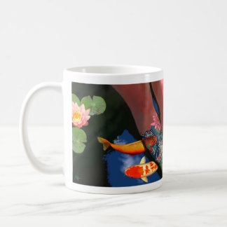 Koi Tattoo Lily Pond Mug Lefthand