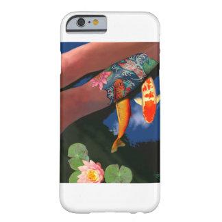 Koi Tattoo Lily Pond Phone Case