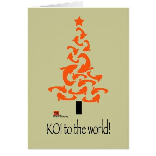 KOI to the world Christmas Card