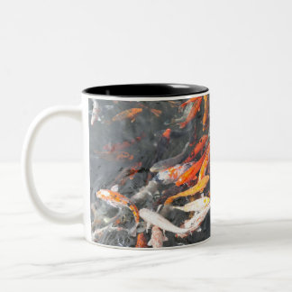 Koi Two-Tone Coffee Mug