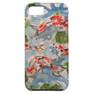 Koi Watercolor Design iPhone 5 Tough Case