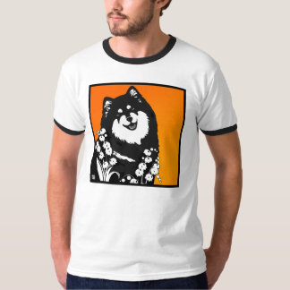 KOIRA JA LILJA (dog and lily) T-Shirt