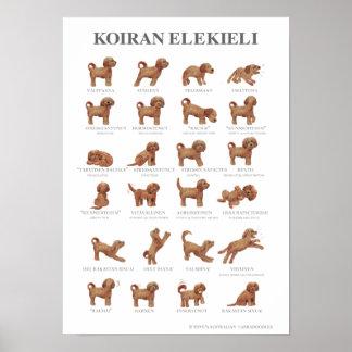 Koiran elekieli A3 / Juliste / Poster