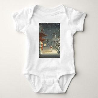 Koitsu Tsuchiya Nezu Shrine Sale Shin Hanga Art Baby Bodysuit