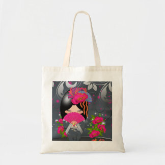 "Kokeshi Doll ""Journey"" Tote Bag"