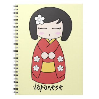 Kokeshi Doll Notebook