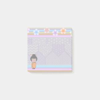 kokeshi dragonflies - Post-It Notes pad