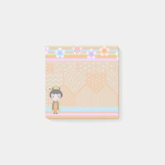 kokeshi noshi - Post-It Notes pad