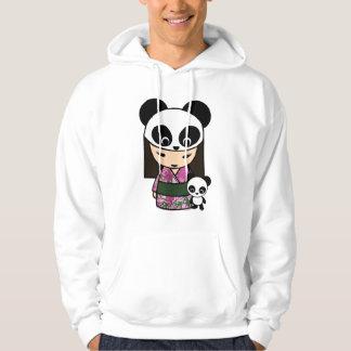 Kokeshi Panda by MonkeyHut Hoodie