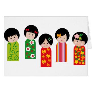 KokeshiKids1 Card