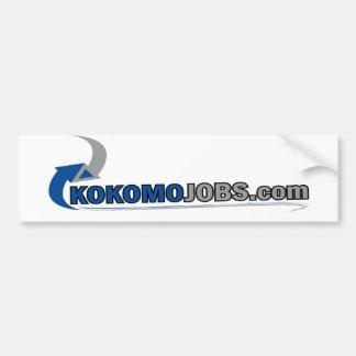 Kokomo Jobs Bumper Sticker Car Bumper Sticker