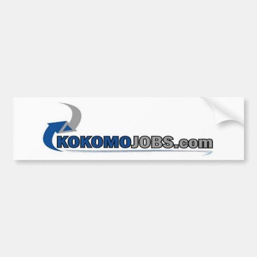Kokomo Jobs Bumper Sticker