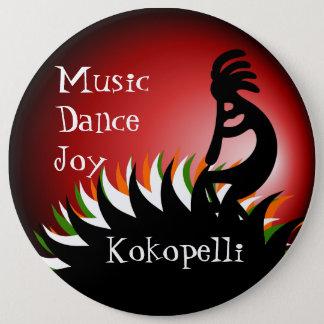 Kokopelli 6 Cm Round Badge