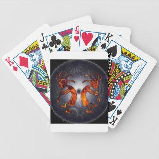 kokopelli bicycle playing cards