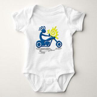 Kokopelli Chopper Baby Bodysuit