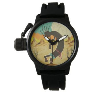 Kokopelli Dances Wrist Watches