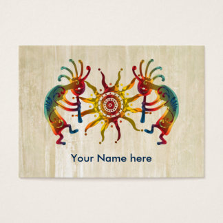 KOKOPELLI DUO SUN + your ideas Business Card