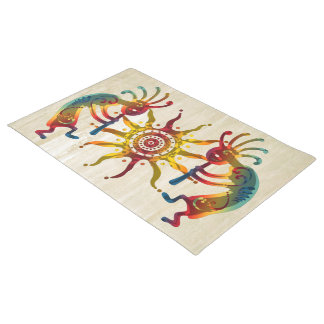 KOKOPELLI DUO SUN + your ideas Doormat