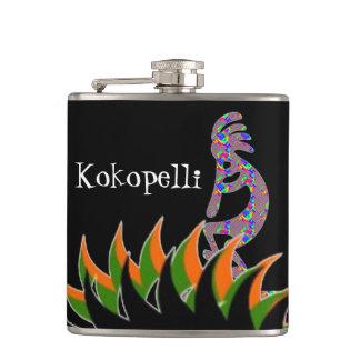 Kokopelli Flasks