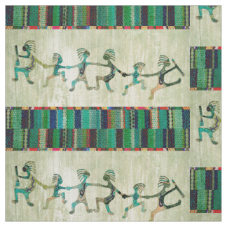 KOKOPELLI funny familiy + your ideas Fabric