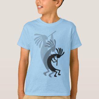 Kokopelli Gets Down Kids Tshirt