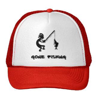 Kokopelli Gone Fishing Cap