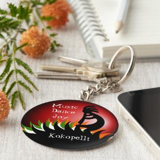 Kokopelli Key Ring