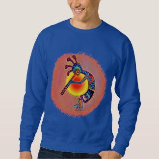 Kokopelli Lizard Sun Sweatshirt