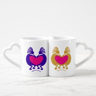 Kokopelli Lovers Mug Set