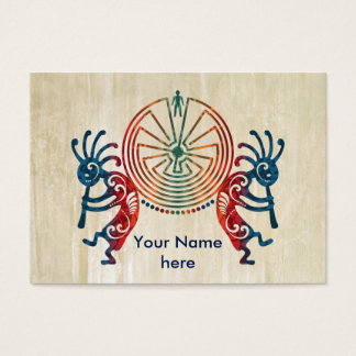 KOKOPELLI / MAN IN THE MAZE + your ideas Business Card