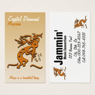 Kokopelli Musician Business Card