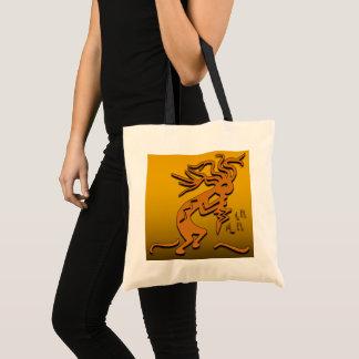 Kokopelli Musician Tote Bag