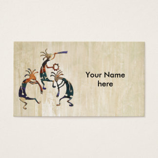 KOKOPELLI musician trio + your ideas Business Card