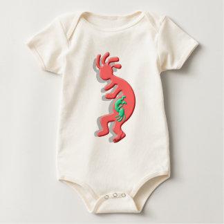 Kokopelli Nataive American Expectant Mother Baby Bodysuit