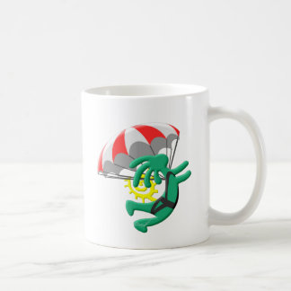 Kokopelli Native American Skydiver Coffee Mug