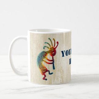 KOKOPELLI ornaments + your ideas Basic White Mug